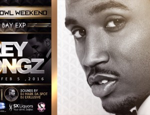 TREY SONGZ 1st Friday Super Bowl 50 weekend