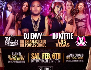 DJ ENVY & FRIENDS SUPERBOWL PARTY